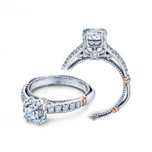 Verragio 14k Two Tone Gold 0.30ct Diamond Engagement Ring