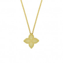 Roberto Coin Princess Collection Medium Flower Pendant