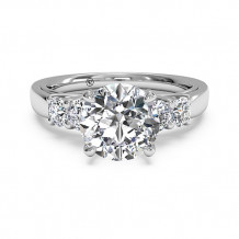 Ritani Trellis Five-Stone Diamond Engagement Ring